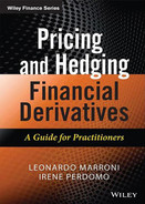 Cover of Pricing and Hedging Financial Derivatives: A Guide for Practitioners