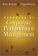 Cover of Handbook of Corporate Performance Management