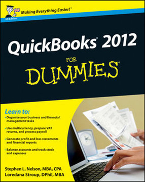 QuickBooks® 2012 For Dummies®, UK Edition