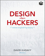 Cover of Design for Hackers: Reverse-Engineering Beauty