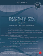 Cover of Designing Software Synthesizer Plug-Ins in C++