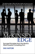 Cover of The McKinsey Edge: Success Principles from the World's Most Powerful Consulting Firm