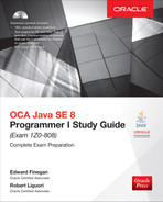 Cover of OCA Java SE 8 Programmer I Study Guide (Exam 1Z0-808), 3rd Edition