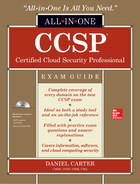 Cover of CCSP Certified Cloud Security Professional All-in-One Exam Guide