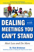 Cover of Dealing with Meetings You Can't Stand: Meet Less and Do More
