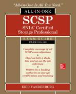 Cover of SCSP SNIA Certified Storage Professional All-in-One Exam Guide (Exam S10-110)