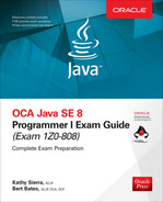 Cover of OCA Java SE 8 Programmer I Exam Guide (Exams 1Z0-808)