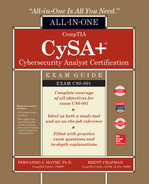 Cover of CompTIA CySA+ Cybersecurity Analyst Certification All-in-One Exam Guide (Exam CS0-001)