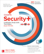 Cover of CompTIA Security+ Certification Study Guide, Third Edition (Exam SY0-501), 3rd Edition