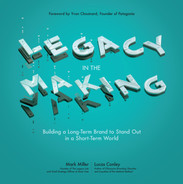 Cover of Legacy in the Making: Building a Long-Term Brand to Stand Out in a Short-Term World