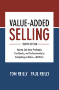Cover of Value-Added Selling, Fourth Edition: How to Sell More Profitably, Confidently, and Professionally by Competing on Value—Not Price, 4th Edition