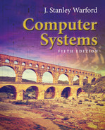 Cover of Computer Systems, 5th Edition