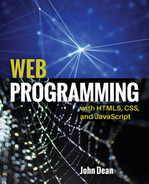 Cover of Web Programming with HTML5, CSS, and JavaScript