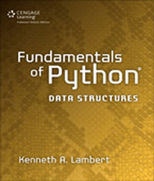 Fundamentals of Python®: Data Structures