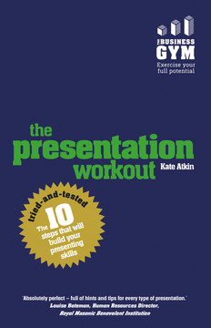 The Presentation Workout
