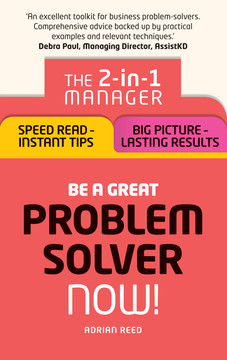 Be a Great Problem Solver – Now!