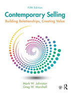 Cover of Contemporary Selling, 5th Edition