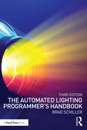 Cover of The Automated Lighting Programmer's Handbook, 3rd Edition