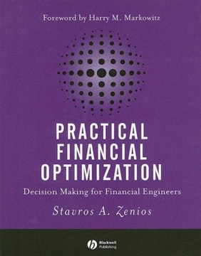 Practical Financial Optimization: Decision Making for Financial Engineers