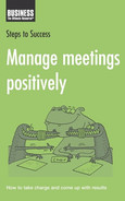 Cover of Manage meetings positively