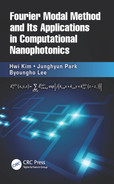 Cover of Fourier Modal Method and Its Applications in Computational Nanophotonics