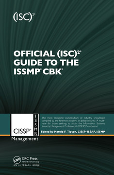 Official (ISC)2® Guide to the ISSMP® CBK®