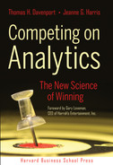 Cover of Competing on Analytics: The New Science of Winning