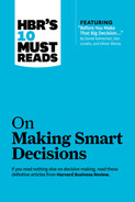 "Cover of HBR's 10 Must Reads on Making Smart Decisions (with featured article ""Before You Make That Big Decision…"" by Daniel Kahneman, Dan Lovallo, and Olivier Sibony)"