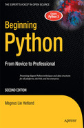 Cover of Beginning Python: From Novice to Professional, Second Edition