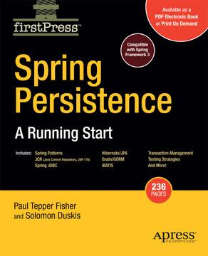 Spring Persistence: A Running Start