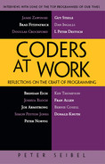 Cover of Coders at Work: Reflections on the Craft of Programming