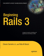 Cover of Beginning Rails 3
