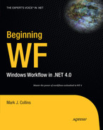 Cover of Beginning WF: Windows Workflow in .NET 4.0