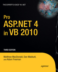 Pro ASP.NET 4 in VB 2010, Third Edition