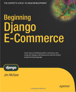Cover of Beginning Django E-Commerce