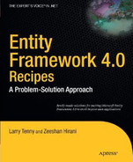 Cover of Entity Framework 4.0 Recipes: A Problem-Solution Approach