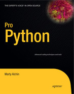 Cover of Pro Python
