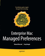 Cover of Enterprise Mac Managed Preferences