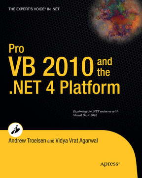 Pro VB 2010 and the .NET 4 Platform