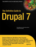 Cover of The Definitive Guide to Drupal 7