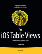Cover of Pro iOS Table Views for iPhone, iPad, and iPod Touch