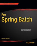 Cover of Pro Spring Batch