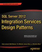 Cover of SQL Server 2012 Integration Services Design Patterns