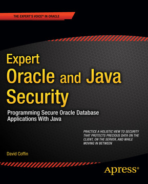 Expert Oracle and Java Security: Programming Secure Oracle Database Applications with Java