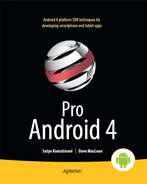 Cover of Pro Android 4