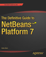 Cover of The Definitive Guide to NetBeans™ Platform 7