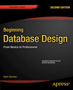 Cover of Beginning Database Design: From Novice to Professional, Second Edition