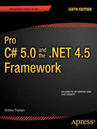 Cover of Pro C# 5.0 and the .NET 4.5 Framework, Sixth Edition