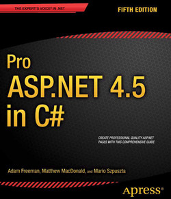 Pro ASP.NET 4.5 in C#, Fifth Edition