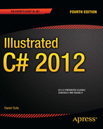 Cover of Illustrated C# 2012